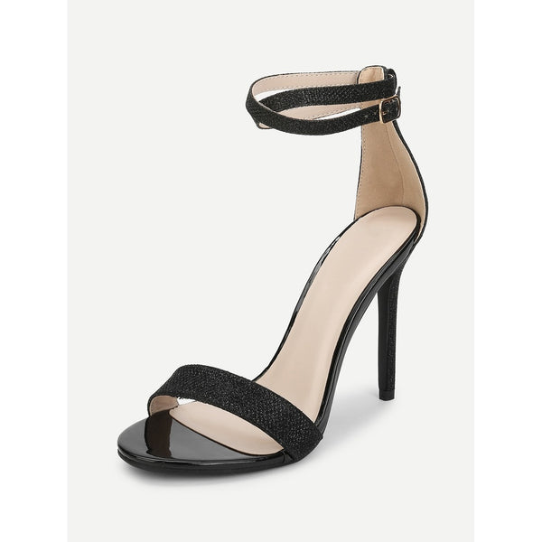 Criss Cross Ankle Strap Two Part Heels - Ladies wishlist