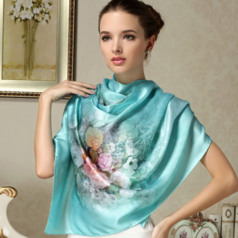 Long Scarf, Luxury Brand Scarf Printed Shawls Beach Cover-ups