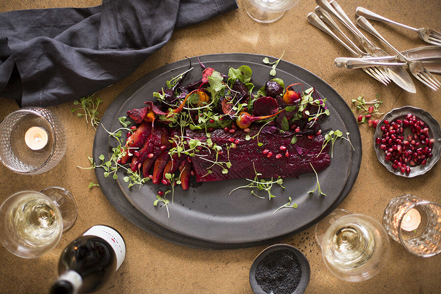 Festive Recipe: Dill, beetroot and citrus-cured trout