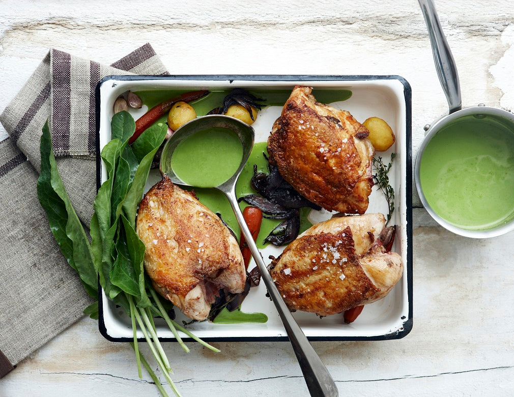 Chicken with Green Sauce