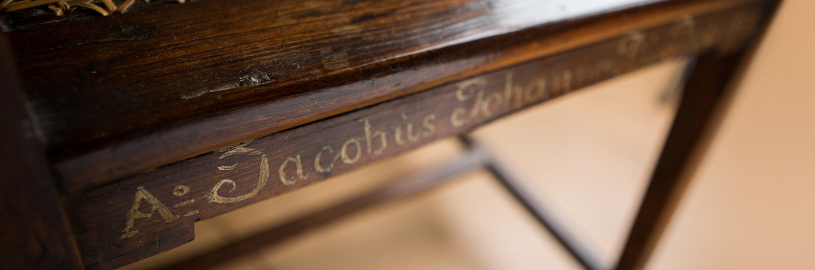 Dating old furniture