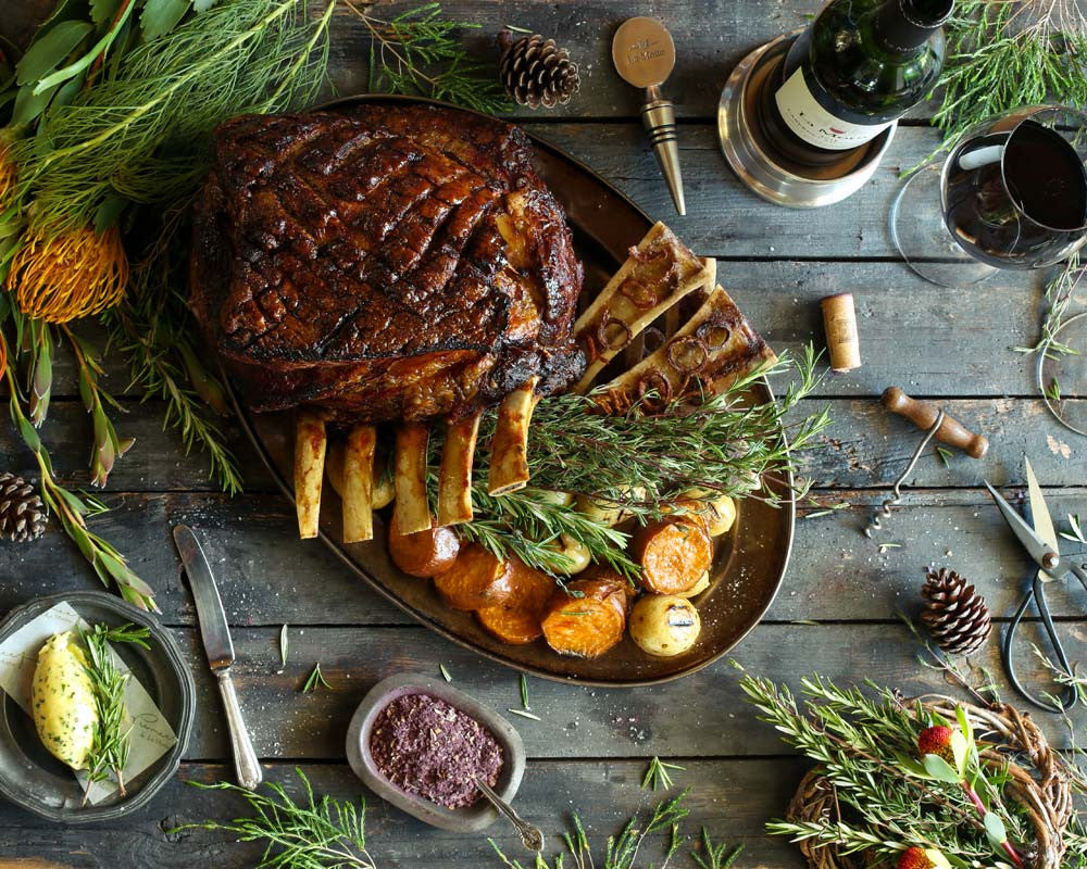 Festive Recipe: Beef Prime Rib on the Bone