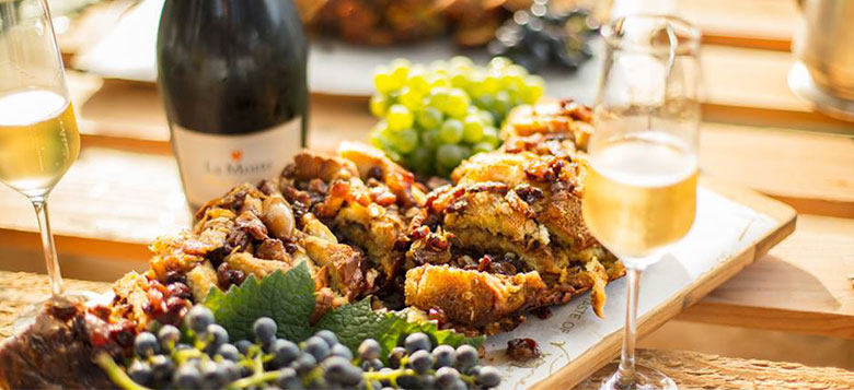 Delicious crumble tart and wine tasting in Franschhoek - things to do in Franschhoek