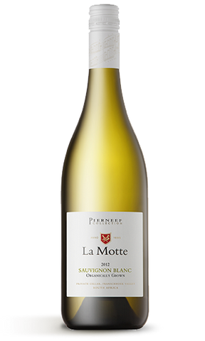 2012 La Motte Pierneef Sauvignon Blanc Organically Grown