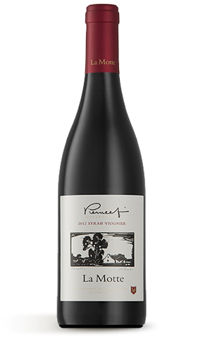 2012 La Motte Pierneef Syrah Viognier - Red Wine Blend