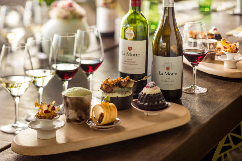 Wine & Food Tasting: 12 April 2019