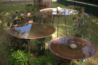 Floating Steel Stand Bird Bath