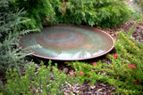 Large Spun Copper Dish