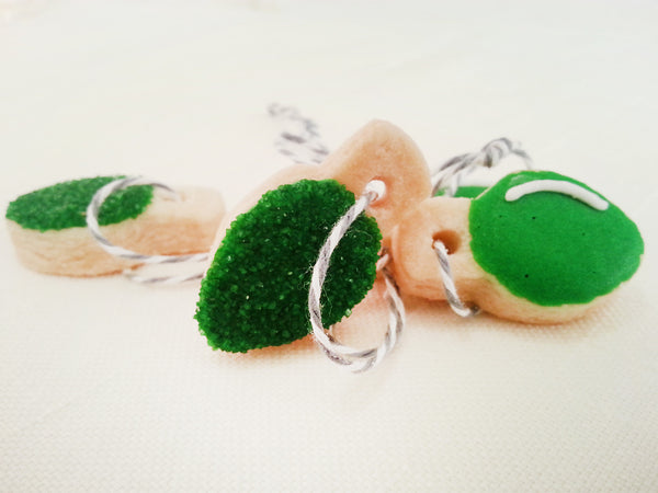 Edible Cookie Ornament + Christmas Tree - Green – Pat´s ...