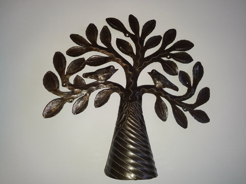 Metal Artwork Selfstanding Tree