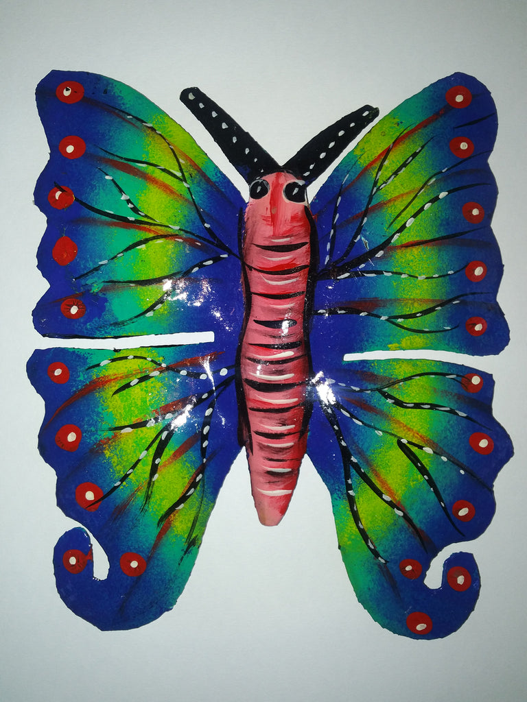 Metal Artwork Butterfly Medium 2