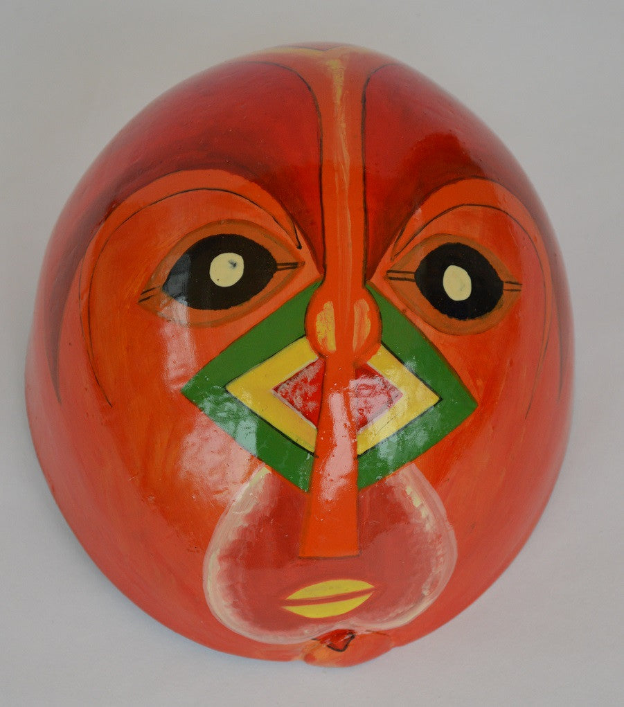 Mask made from calabash