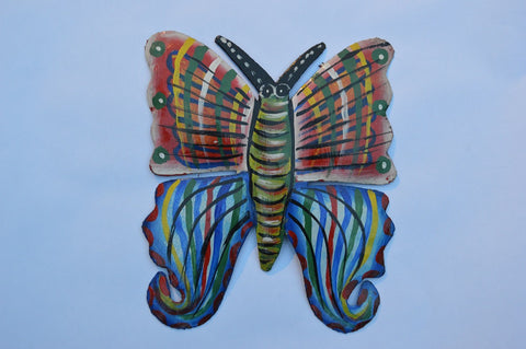Metal Artwork Butterfly Medium 1