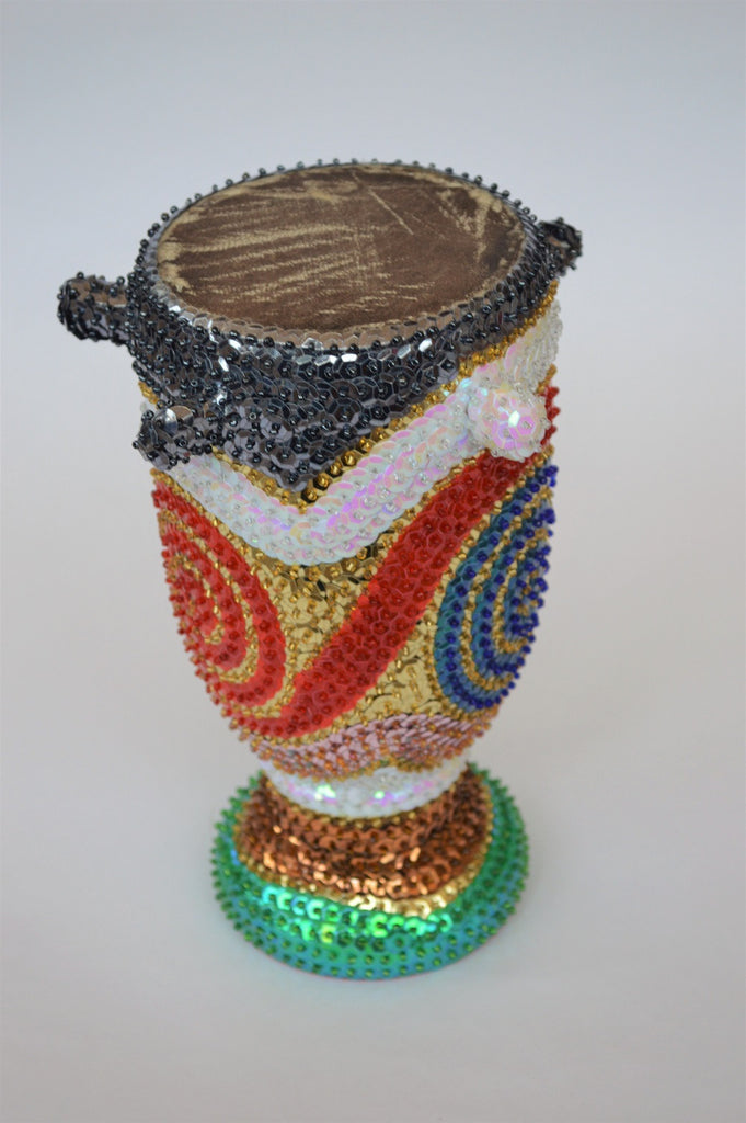 Sequin covered drum