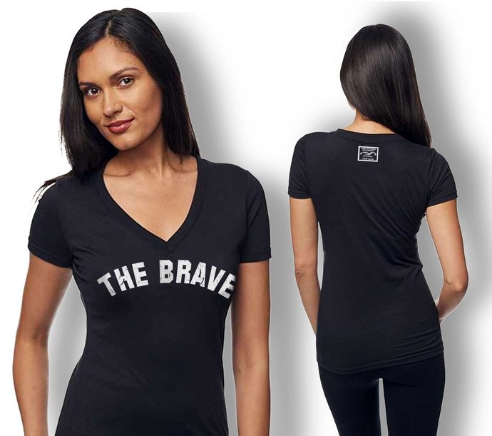 The Brave / V-neck #MilitaryJargon Collection