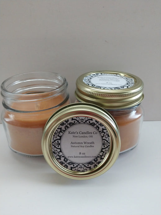 Kate's Candles Co Natural Pure Soy Candles