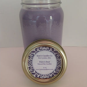 Fairy's Dust Scented Soy Candles