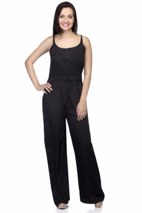 e86074dcf5 Buy Women s Polyester Black Jumpsuits at best prices in India