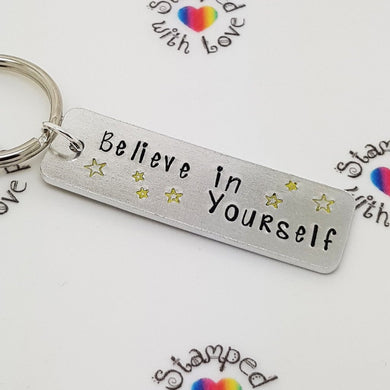 Stamped with Love - Believe in Yourself, handmade in Hampshire, UK