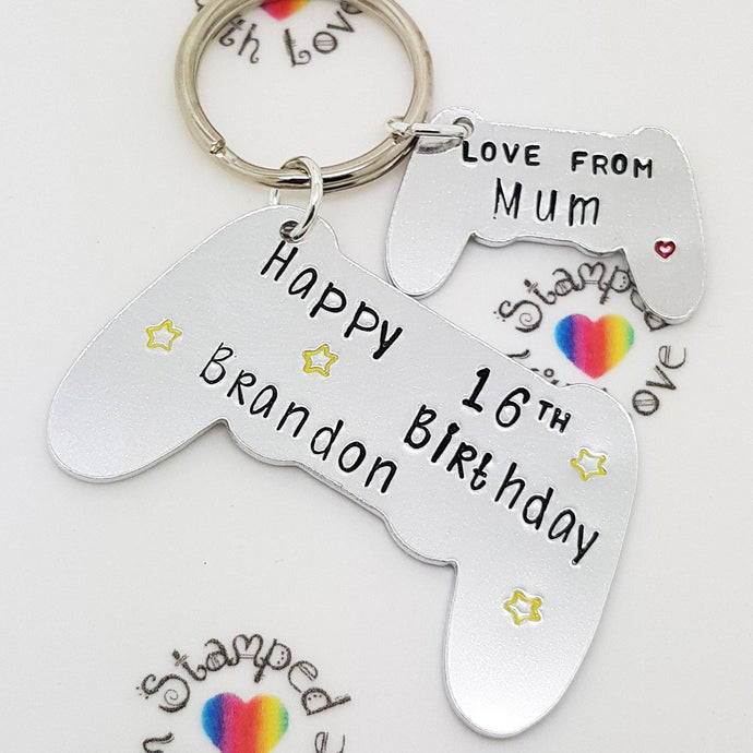 Stamped with Love - Birthday Controller, handmade in Hampshire, UK