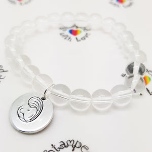 Breastfeeding Bracelet - Stamped with Love