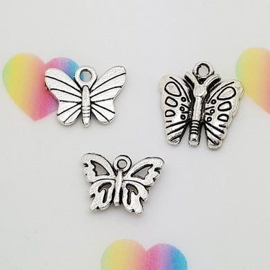 Stamped with Love - Butterfly Charms, handmade in Hampshire, UK