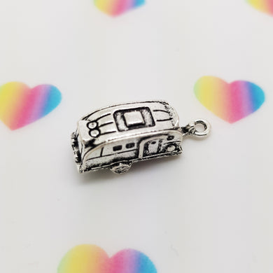 Stamped with Love - 3D Caravan Charm, handmade in Hampshire, UK