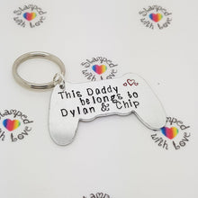 Game Controller Keyring - Stamped with Love
