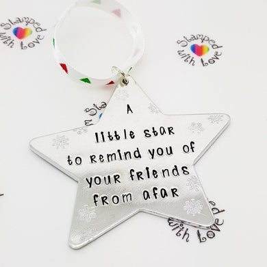 Stamped with Love - A Little Star from Afar, handmade in Hampshire, UK