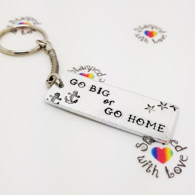 Stamped with Love - Go Big or Go Home, handmade in Hampshire, UK
