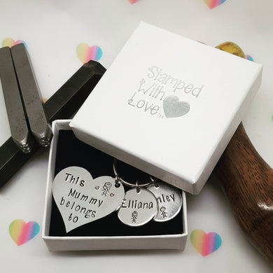Stamped with Love - Gift Box, handmade in Hampshire, UK