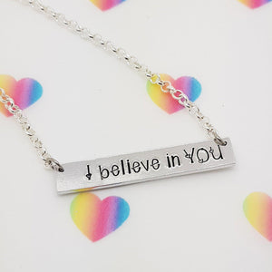 Stamped with Love - I believe in YOU, handmade in Hampshire, UK
