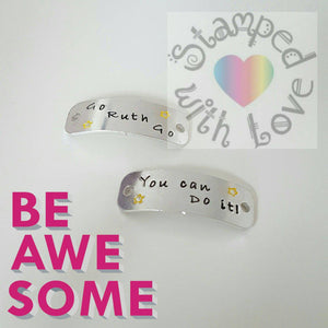 Stamped with Love - Trainer Tags, handmade in Hampshire, UK