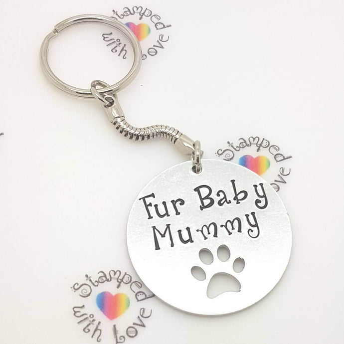 Stamped with Love - Fur Baby Mummy, handmade in Hampshire, UK