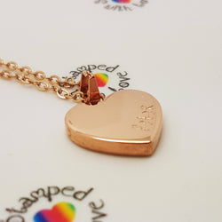 Rose Gold, Gold or Silver Necklace