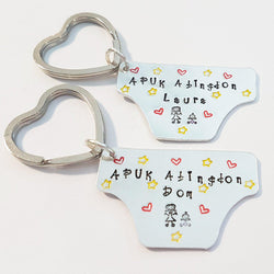 Cloth Nappies Keyring
