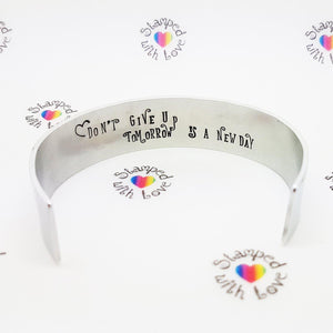 Stamped with Love - Wish Bracelet, handmade in Hampshire, UK