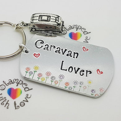 Stamped with Love - Caravan Lover, handmade in Hampshire, UK