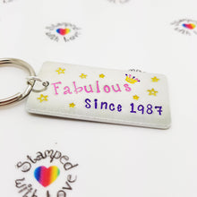 Stamped with Love - Fabulous Since..., handmade in Hampshire, UK