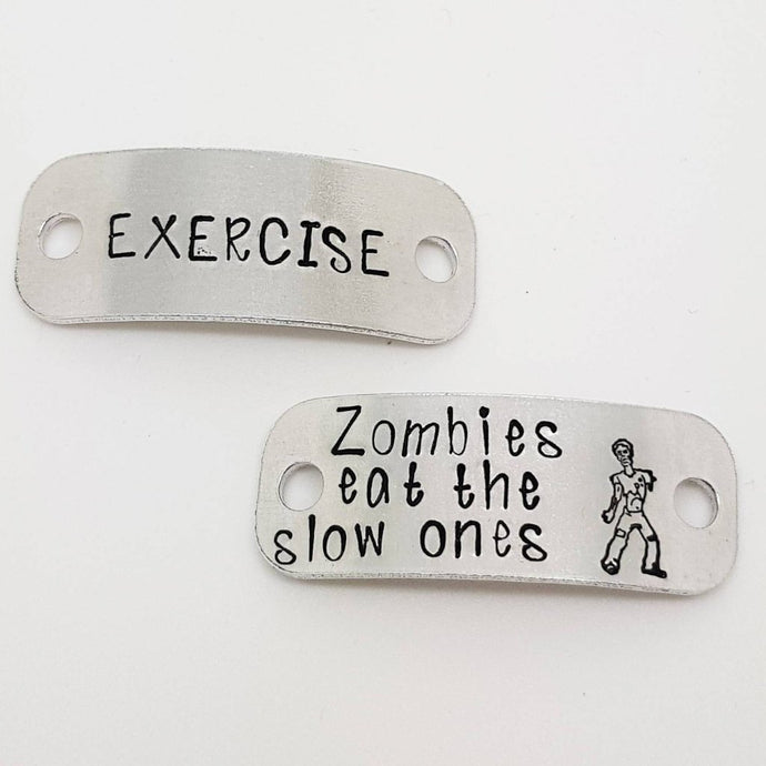 Stamped with Love - Zombie Trainer Tags, handmade in Hampshire, UK