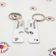Stamped with Love - Forever His / Forever Hers, handmade in Hampshire, UK