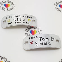 Stamped with Love - With You Every Step Of The Way, handmade in Hampshire, UK