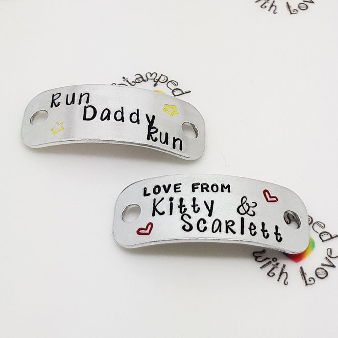 Run Daddy Run Trainer Tags - Stamped with Love