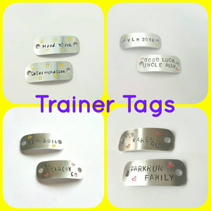 Trainer Tags - Stamped with Love