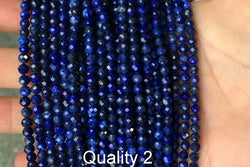 Lapis Lazuli - Round faceted- beads supplier