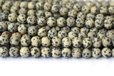 Dalmation jasper - Round- beads supplier
