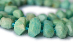 Amazonite - Nugget- beads supplier