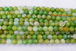 fire Agate - Round- beads supplier