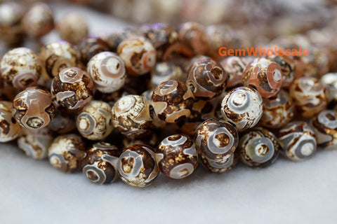 DZI Agate - Round- beads supplier