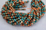 Rain flower stone - Round- beads supplier